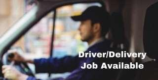 Part Time Driver/Delivery