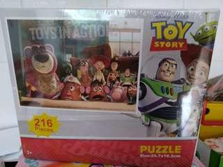 Toy story Puzzle全新216pieces