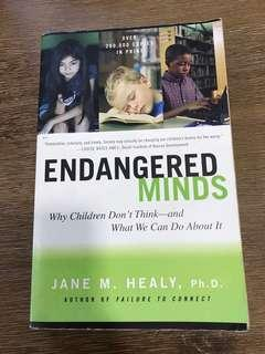 Endangered Minds by Jane M Healy