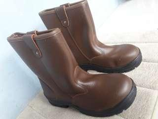 Dijual Murah Sepatu Safety Krusher Texas Brown