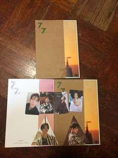 WTS GOT7 7 FOR 7 ALBUMS WITH PHOTOCARD AND POSTER