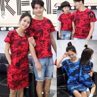 Couple Family Set CNY red