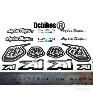 🆕! Troy Lee Designs X GoPro Hero TLD Limited Sponsor Race Decal #Dcbikes