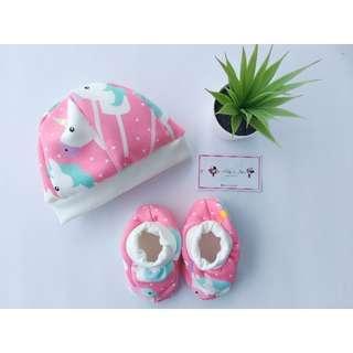 Set Baby (Spatu + topi )