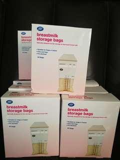 Boots breastmilk storage bag 奶袋