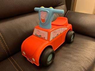 Peppa Pig 兒童車 滑步車仔 (9.5成新 玩具反斗城買)