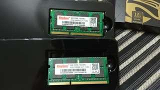 Laptop DDR3 8gb ram