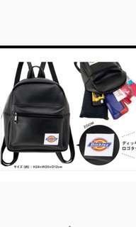 Mini雜誌附錄  Dickies mini backpack