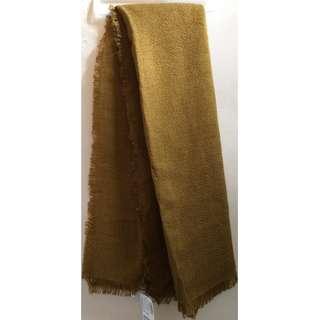 H&M Square Shawl Blanket Scarf - Beige