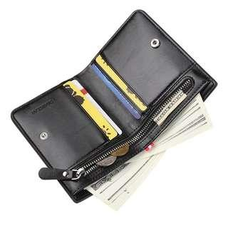 989324ee52ce Men PU leather Wallet Male Purse Coin Money Bag For Portomonee Walet