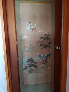 Old Oriental Scroll painting