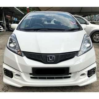 2014 Honda Jazz 1.5 (A) One Owner Mugen RS Bodykit Crystal White