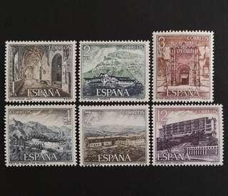 🚚 Spain 1976. Sightseeing complete stamp set