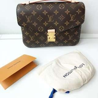 Authentic new louis vuitton metis
