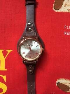 Vintage watch fossil