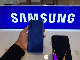 Promo Cash Back Samsung A7...cicilan tanpa kartu kredit