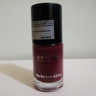 Oriflame Nail Polish/Kutek/Pewarna kuku Ruby Pink