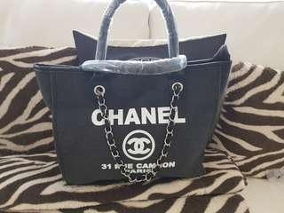 Chanel Bag canvas tote new