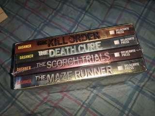 Brand New Maze Runner Box Set