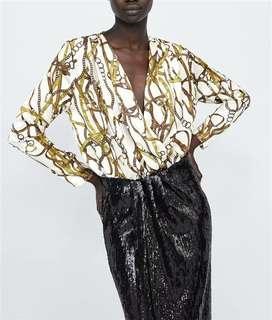 White gold bodysuit