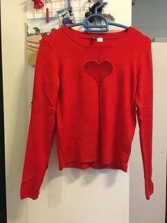 H&M Red Shirt