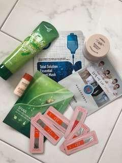 Korean Skincare beauty products