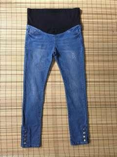 Maternity jeans 34 inches hipline
