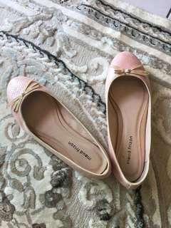 🚚 Maud frizon裸粉麟光色芭蕾舞鞋