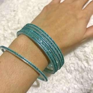 From U.S: Bangles Bracelet 6 pieces