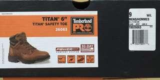 """TIMBERLAND PRO TITAN 6"""" SAFETY TOE BOOTS ( LAST PAIR AND SIZE UK 8.5)"""