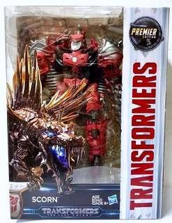 Transformers Dinobot TLK Voyager Class Scorn MISB