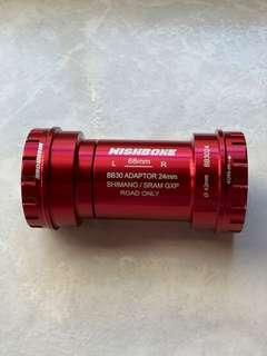 Wishbone Ceramic Bottom Bracket BB30