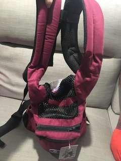 🚚 愛兒寶透氣座墊式揹巾