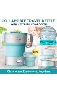 Collapsible Kettle & Mug Set