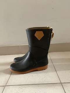 Aigle rain boots (Blue)