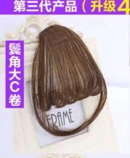 🚚 空氣劉海 假髮 髮片