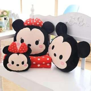Disney Minnie Tsum Tsum plush pillow soft toy car pillow bed