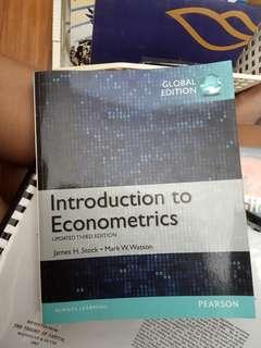 Stock and Watson - Introduction to Econometrics