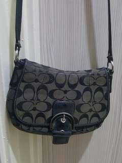 Coach Black Sling Bag