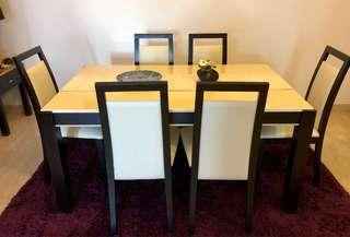 🚚 Set of chairs for dining table (x6)