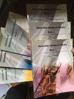 Mastering Advanced Physics BK1-3 (fullset) 連Ans