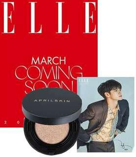 Ong Seongwu for Elle Korea March 2019 issue