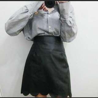🚚 花邊皮裙#半價衣服拍賣會