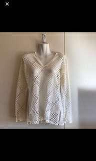 Lace top ivory