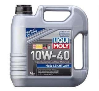 Liqui Moly MoS2 Leichtlauf 10W40 Semi Synthetic Engine Oil (4L)