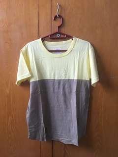 Yellow Brown T-shirt Kaos