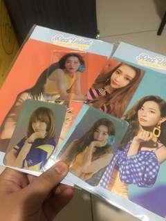 Red Velvet Holograms and Photocards