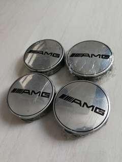 AMG wheel center caps for Mercedes Benz