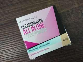Maybelline CLEARSMOOTH ALL IN ONE LOOSE POWDER