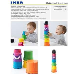 IKEA MULA Building beakers